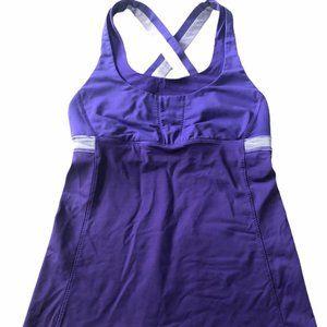 Women Lululemon Purple Push Your Limits 6
